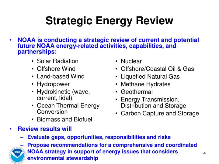 Strategic Energy Review