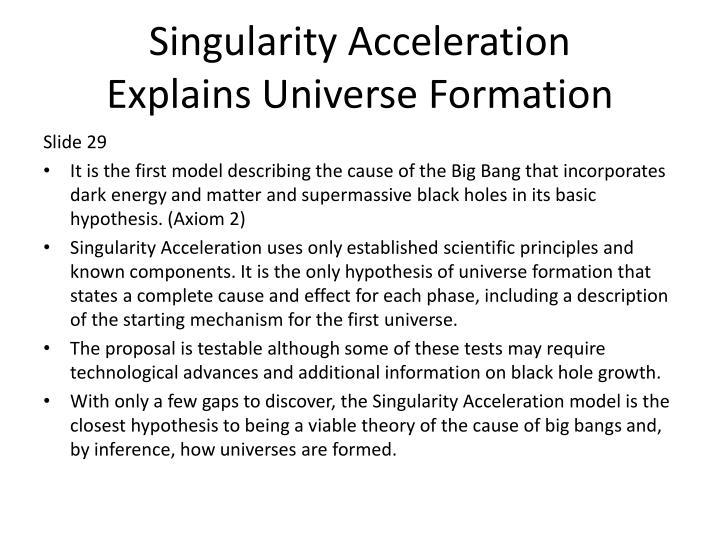 Singularity Acceleration