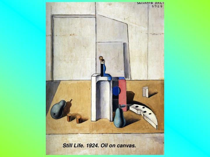 Still Life. 1924. Oil on canvas.