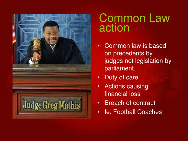 Common Law action