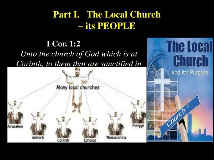 Part I.   The Local Church