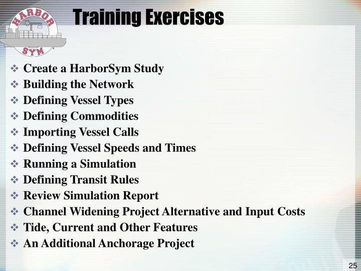 Training Exercises
