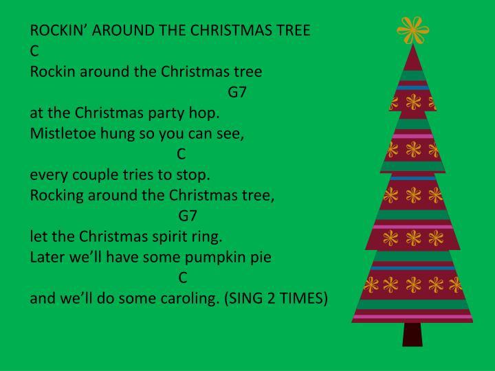 ROCKIN' AROUND THE CHRISTMAS
