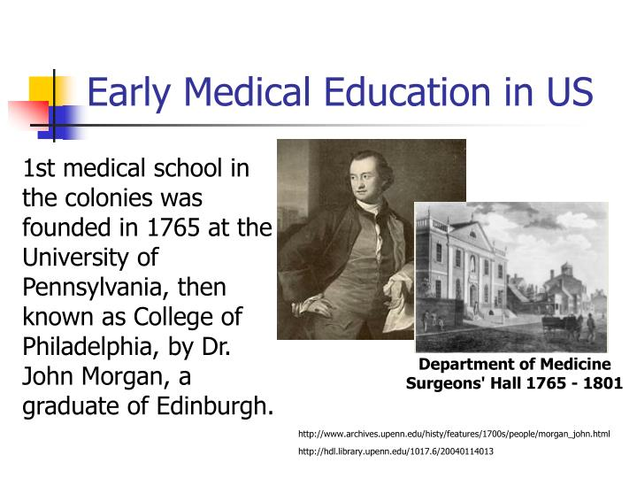 Early medical education in us