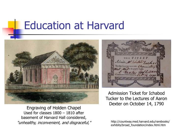 Education at Harvard