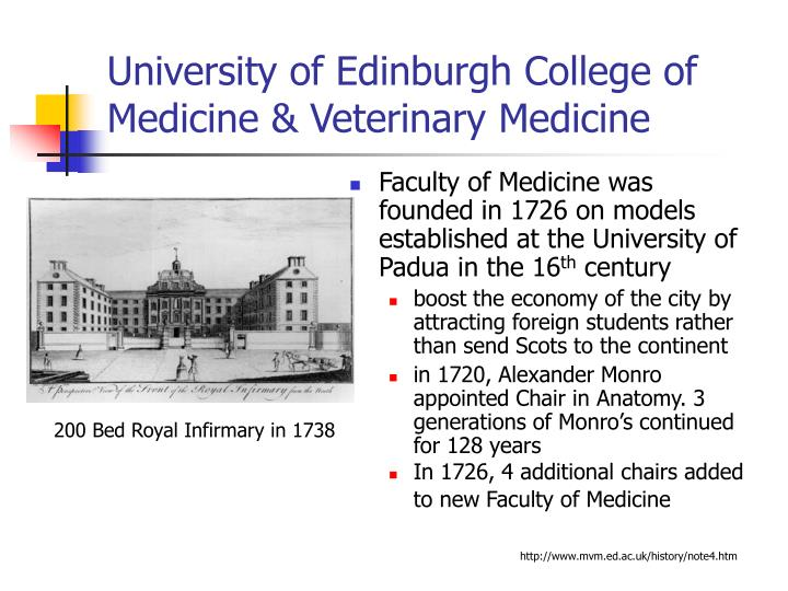 University of Edinburgh College of Medicine & Veterinary Medicine