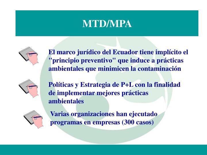 MTD/MPA