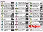 33 projects