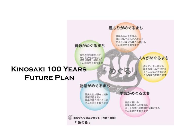 Kinosaki 100 Years Future Plan