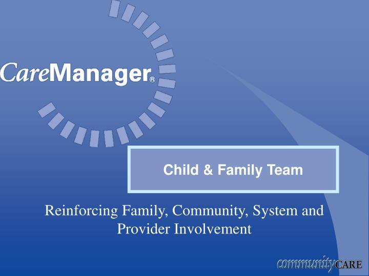 Child & Family Team