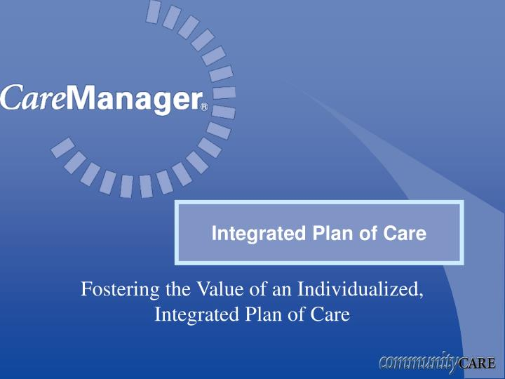 Integrated Plan of Care