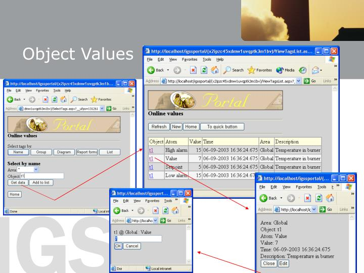 Object Values