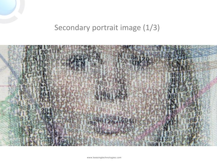 Secondary portrait image (