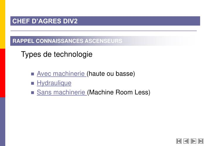 CHEF D'AGRES DIV2