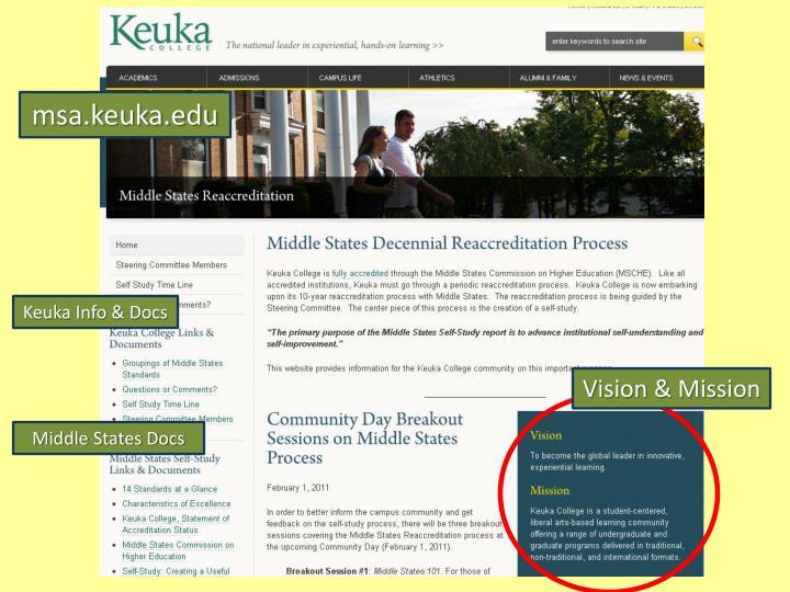 msa.keuka.edu