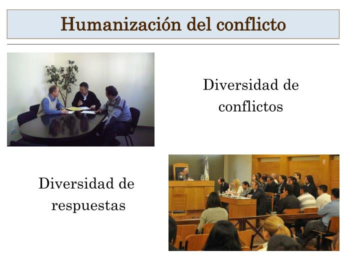 Humanización del conflicto