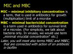 mic and mbc