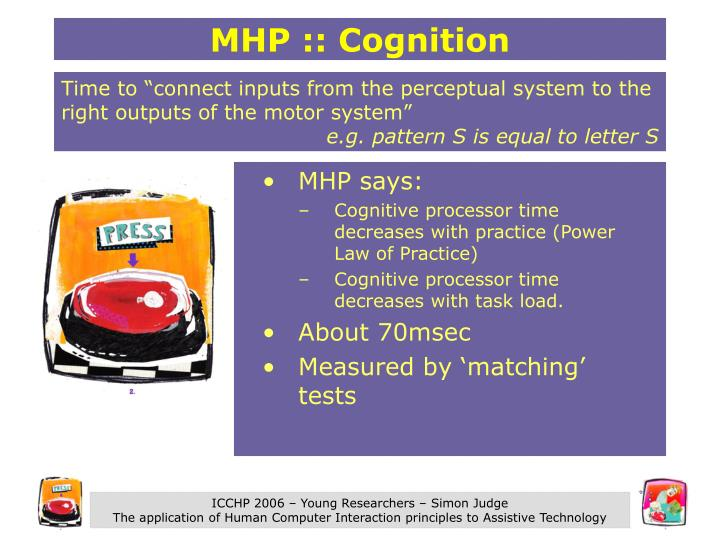 MHP :: Cognition