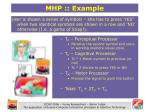 mhp example