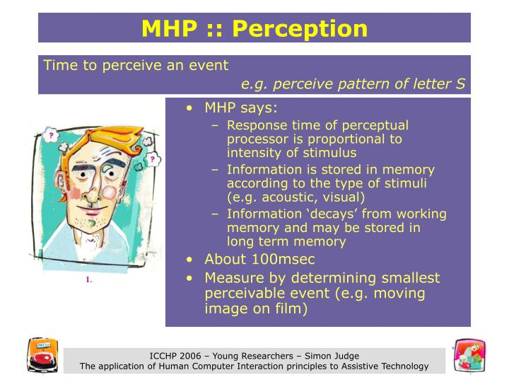 MHP :: Perception
