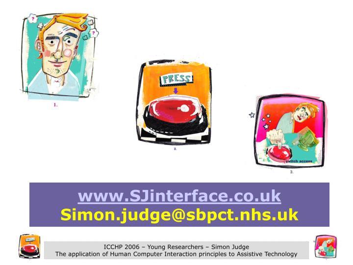 www.SJinterface.co.uk