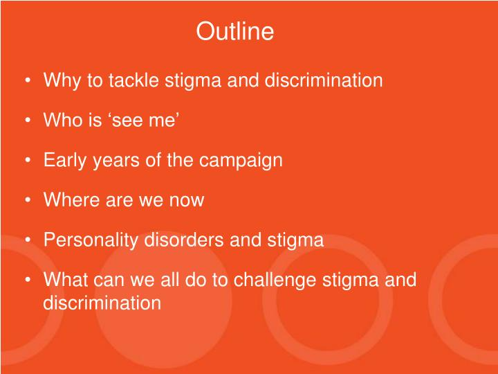 Why to tackle stigma and discrimination
