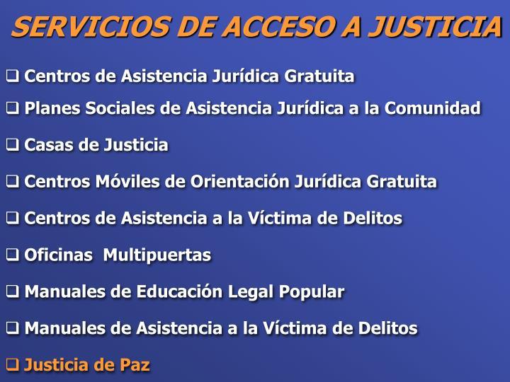 Centros de Asistencia Jurídica Gratuita