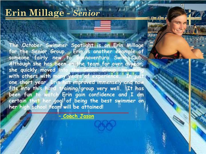 Erin Millage -