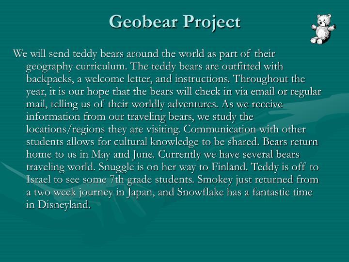 Geobear Project