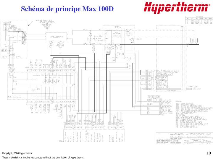 Schéma de principe Max 100D
