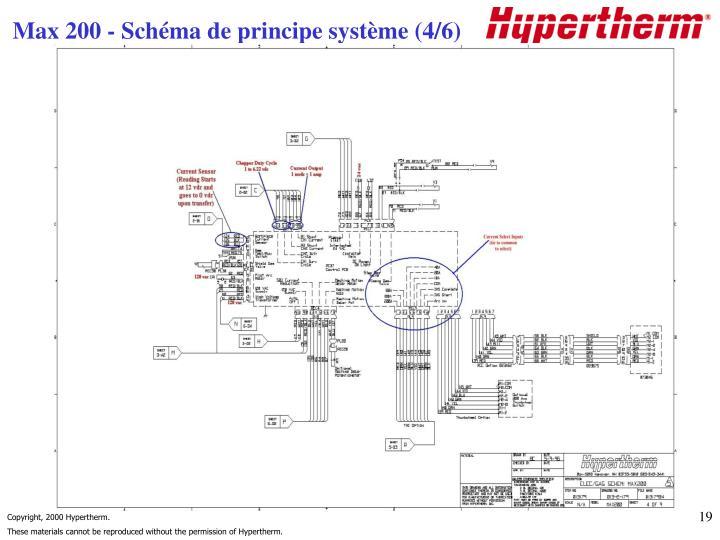 Max 200 - Schéma de principe système (4/6)
