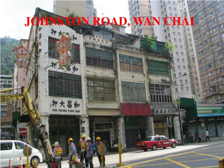 JOHNSTON ROAD, WAN CHAI