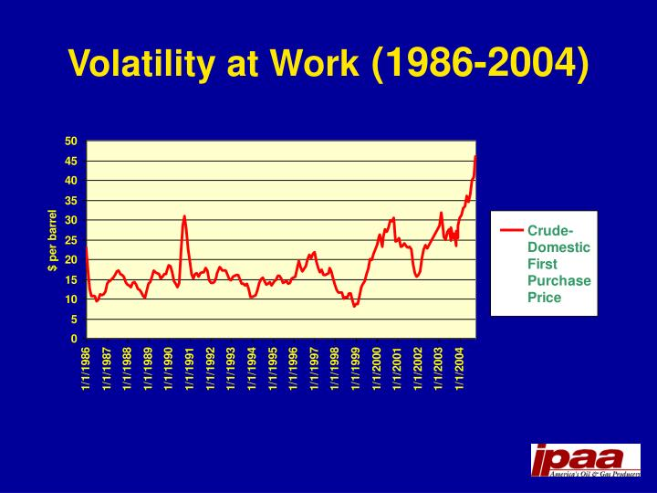 Volatility at Work