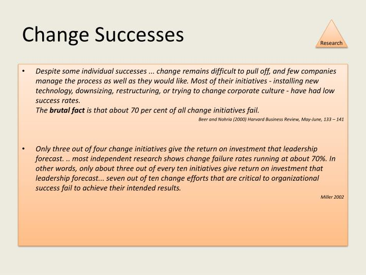 Change Successes