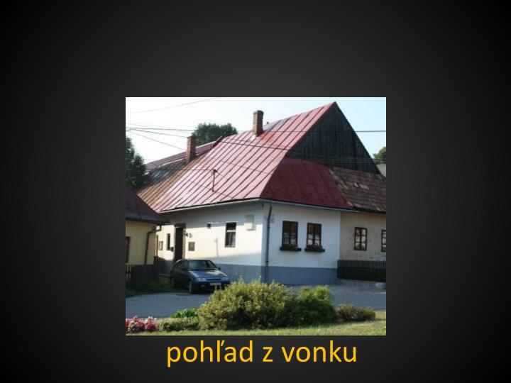 P oh ad z vonku