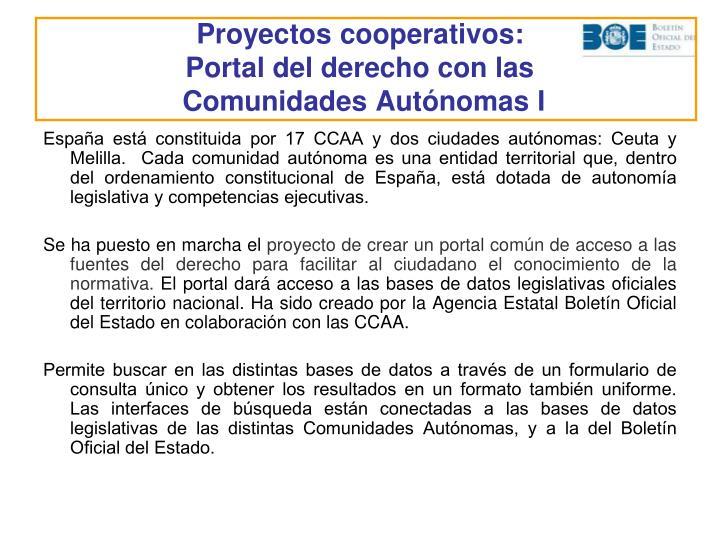 Proyectos cooperativos: