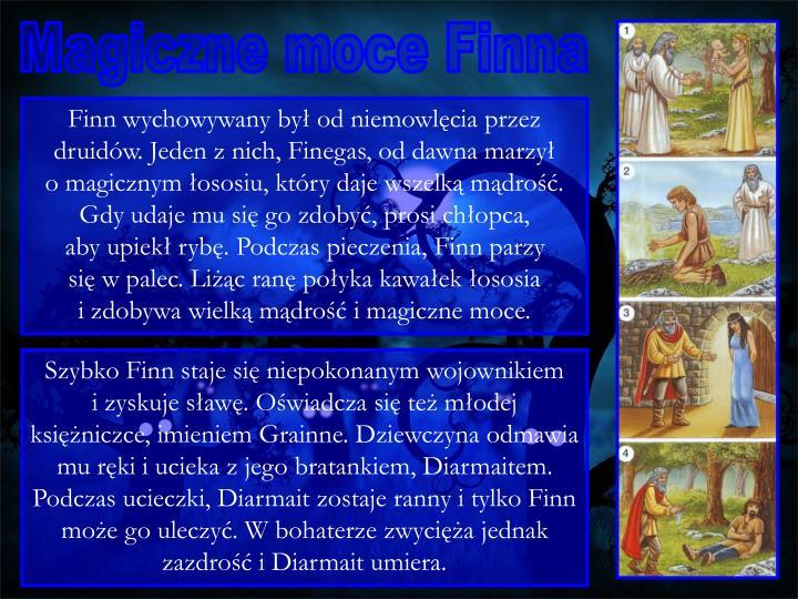 Magiczne moce Finna