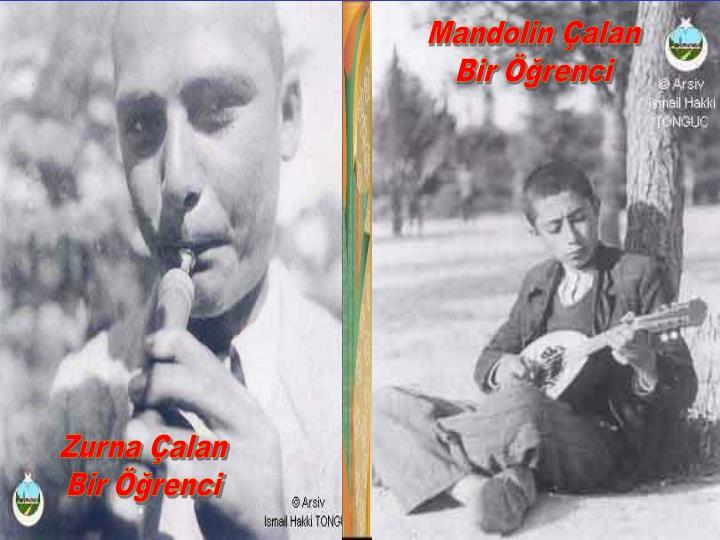 Mandolin Çalan