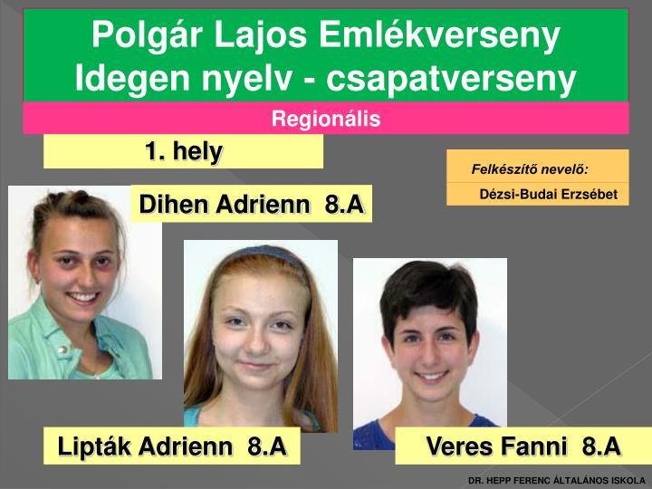 Polgár Lajos Emlékverseny