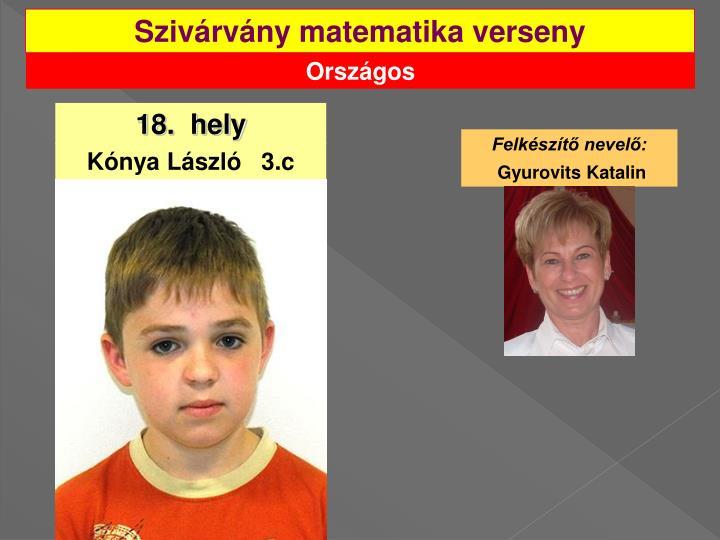 Szivárvány matematika verseny