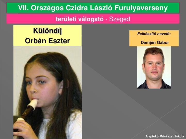 VII. Országos Czidra László Furulyaverseny