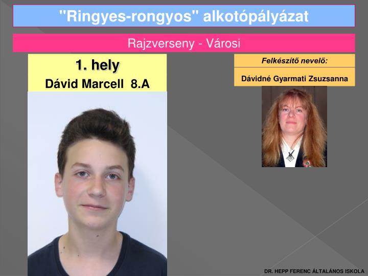 """""""Ringyes-rongyos"""" alkotópályázat"""