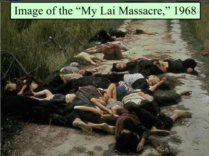 "Image of the ""My Lai Massacre,"" 1968"