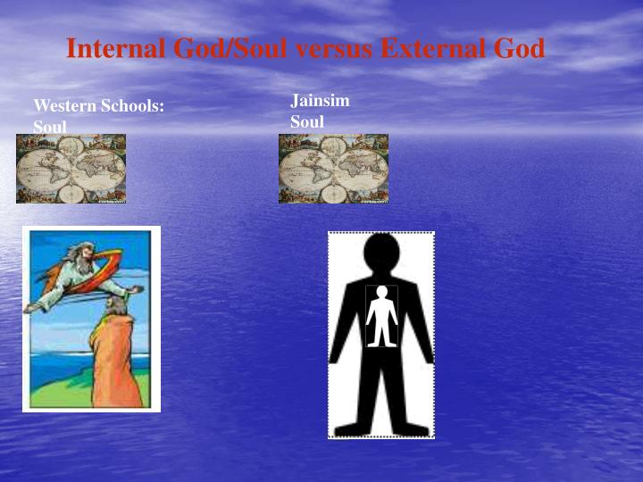 Internal God/Soul versus External God