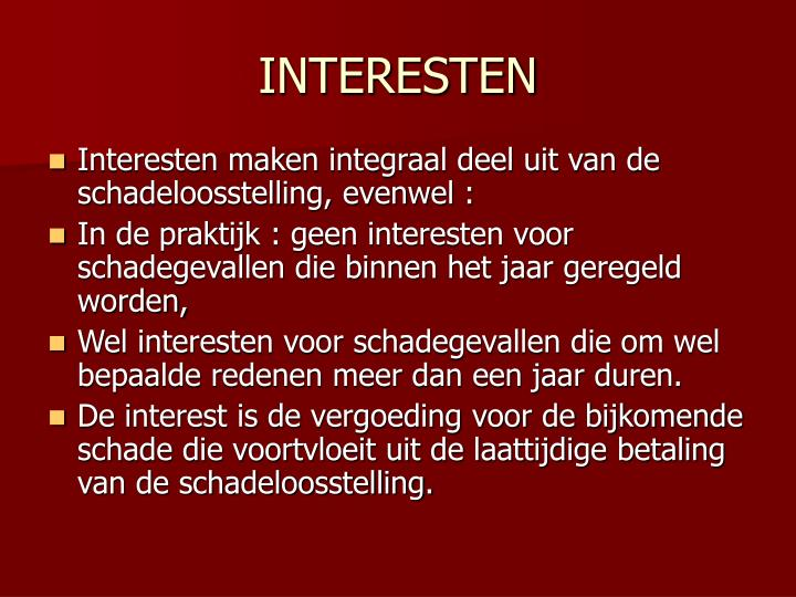 INTERESTEN