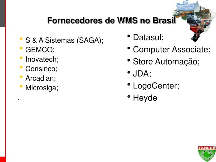 Fornecedores de WMS no Brasil