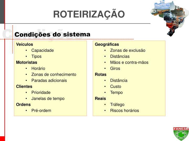 ROTEIRIZAÇÃO