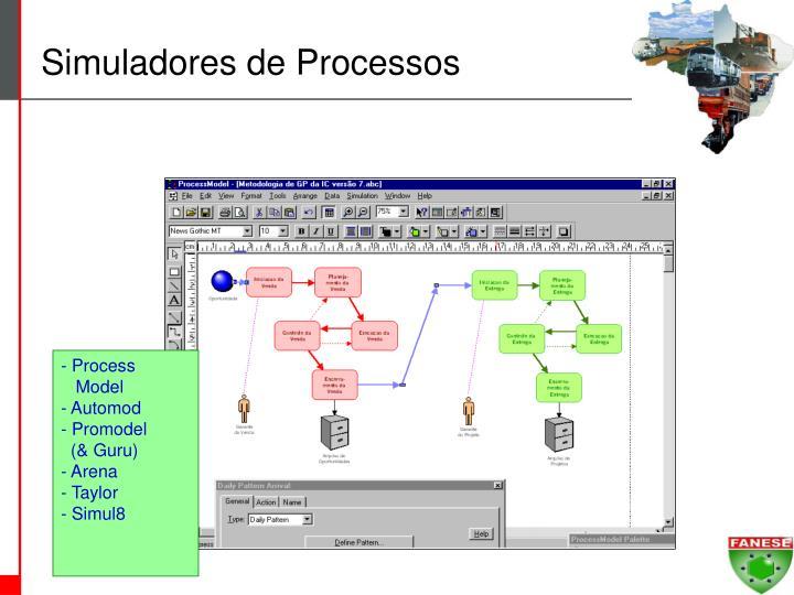 Simuladores de Processos