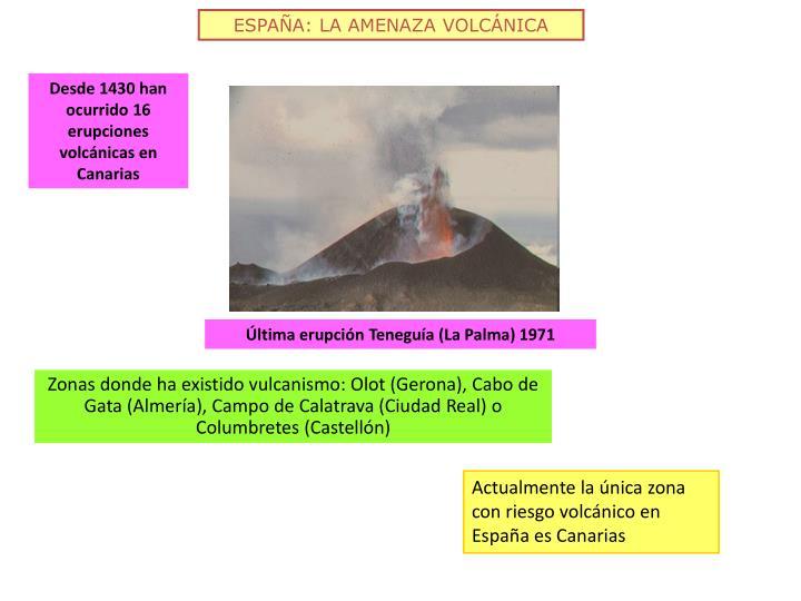 ESPAÑA: LA