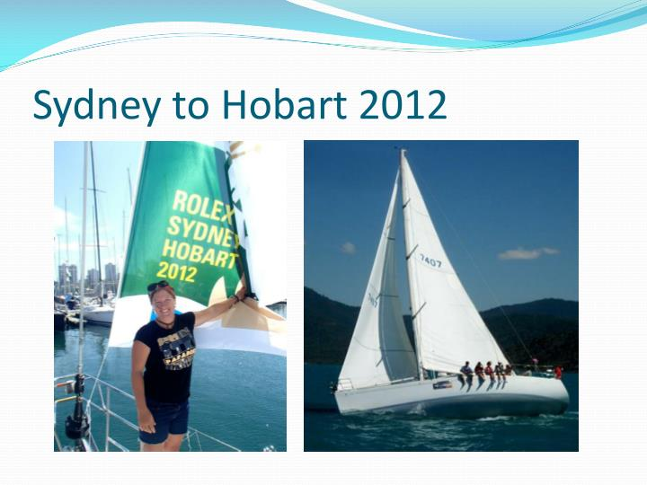 Sydney to Hobart 2012